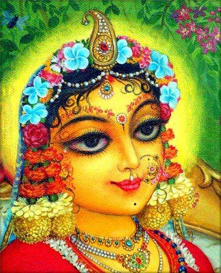 appearence-of-shrimati-radharani