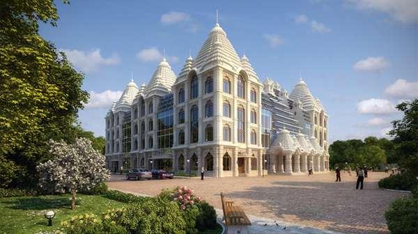 Обращение команды строительства Храма Шри Шри Радхи-Мадхавы в Москве