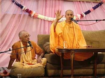 ЕС Бхакти Вигьяна Госвами, История о медитации