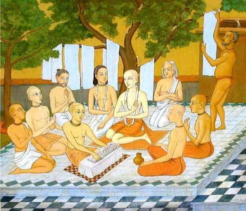Явление Шри Гададхары Пандита