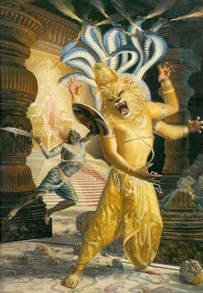 Шри Нрисимхадева Чатурдаши - Явление Господа Нрисимхадева