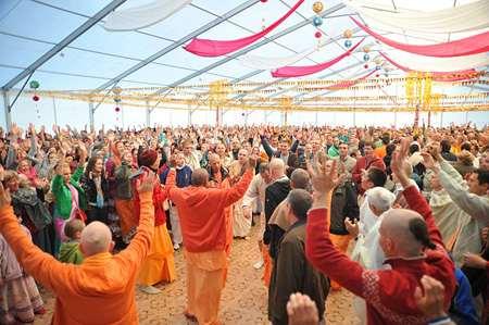 Духовный фестиваль «Бхакти Сангама 2012» в Заозерном (Евпатории)
